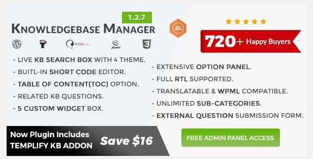 Templify KB - Knowledge Base Addon 36