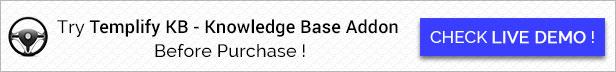 Templify KB - Knowledge Base Addon 33